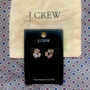 J. Crew Crystal earring studs